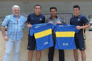 Foto Juan Roman Riquelme Osvaldo Llega A Boca Para Jugar Con Tevez