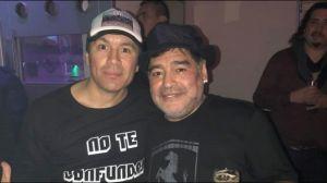 Pablo Lescano compartió una fotón de él con Riquelme