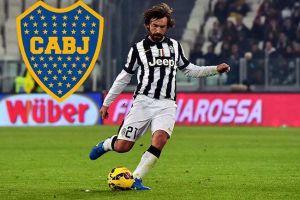 Foto Juan Roman Riquelme Pirlo De Rossi Tevez A Boca Juniors