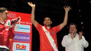 presentación oficial de riquelme en argentinos juniors
