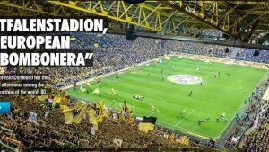 presentan un estadio alemán como la bombonera europea