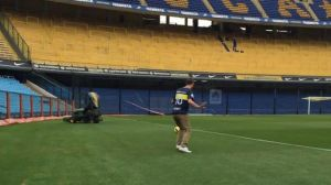 richard ashcroft visitó el estadio de boca juniors