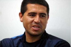Foto Juan Roman Riquelme Riquelme Ganar Copa Libertadores Vale Por 10 Campeonatos Argentinos