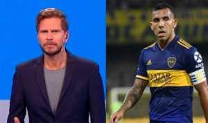<b>Riquelme</b> le ofreció a Tevez trabajar en el club tras su retiro