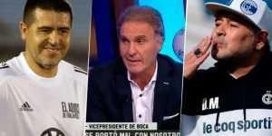 <b>Ruggeri</b> intervino en polémica por el recibimiento de Maradona