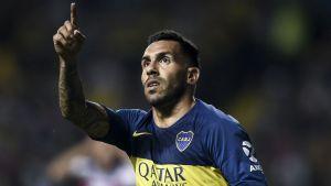 Tevez: La Champions es más tranquila que la Libertadores