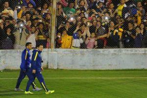 Foto Juan Roman Riquelme Tevez Troto Solo Once Boca Central Para Final