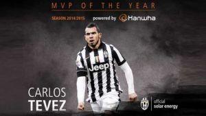 Foto Juan Roman Riquelme Tevez Volvio A Ser Elegido Mejor Jugador Juventus Temporada