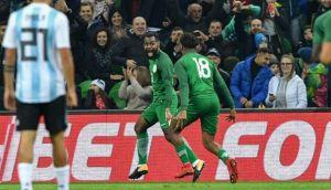argentina cayó 4-2 ante nigeria y perdió el invicto con sampaoli