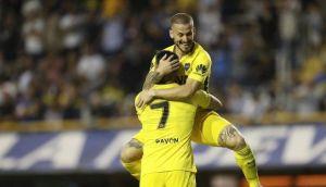 boca juniors goleó 4-0 a belgrano por la superliga argentina