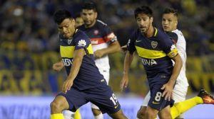 boca y san lorenzo empataron 2-2 en un partido a puro gol