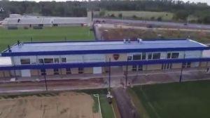 el centro de entrenamiento que boca inauguró en ezeiza desde un dron