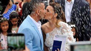 el divertido video de carlos tevez cantando en su boda