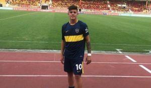 juvenil de boca anotó un golazo en torneo internacional