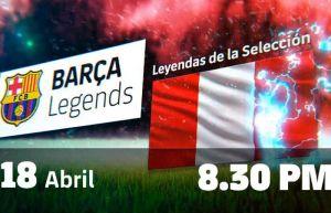 ¡leyendas de barcelona en lima!