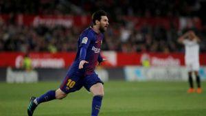 no es broma: messi entró y salvó al barcelona