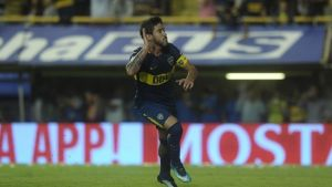 pérez explicó su furia hacia la tribuna después de su gol