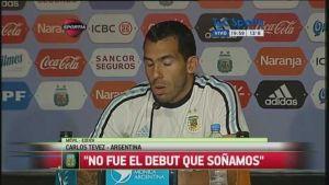 tevez habló de su posición en la selección argentina