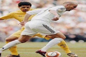 Foto Juan Roman Riquelme Zidane Y Otras Figuras Despiden A Riquelme