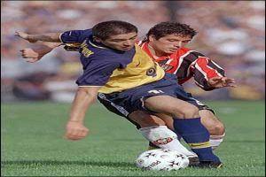 Foto Juan Roman Riquelme con Boca Juniors en Apertura