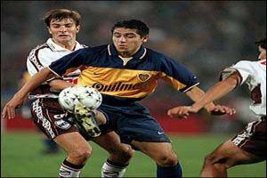 Foto Juan Roman Riquelme en Copa Libertadores