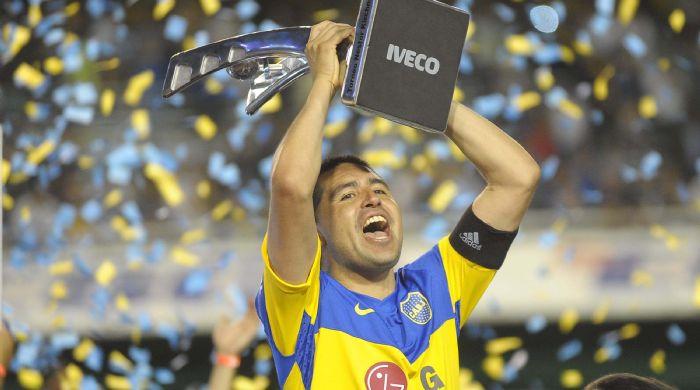 Riquelme en el Torneo Apertura 2011