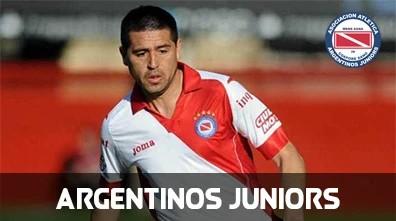 Fotos de Riquelme con Argentinos Juniors
