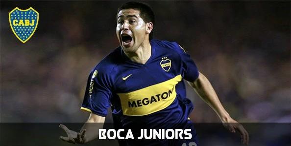 Fotos de Riquelme con Boca Juniors