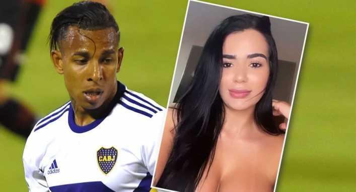 """¿Hombres? Hay que saber escoger: varillazo de la ex de Villa al jugador de Boca"