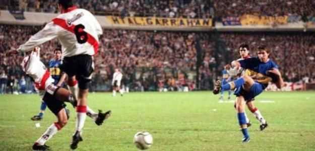 20 años del día que Boca bailó a River en la Copa Libertadores