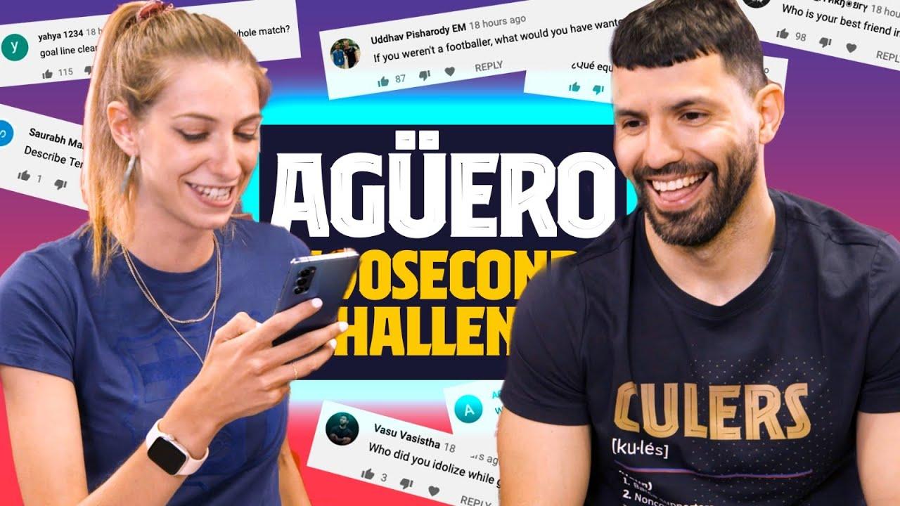 Agüero y un desafío en Barcelona: Riquelme, su referente futbolístico de la infancia