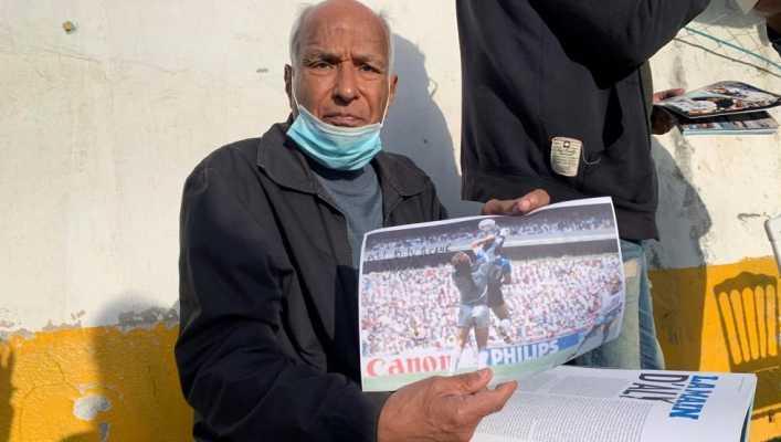 Ali Bennaceur: No vi la mano de Maradona, pero contribuí al gol del siglo