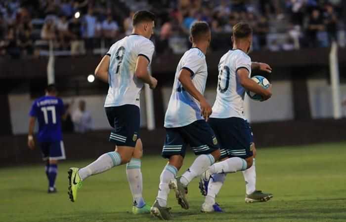 Argentina empató con Paraguay en amistoso de la Sub 23