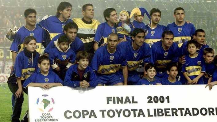 Así fue la formación del histórico Boca Juniors campeón de la Copa Libertadores 2001