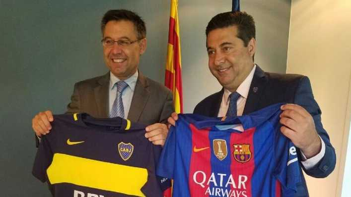 BARCELONA INVITO A BOCA JUNIORS A DISPUTAR LA COPA JOAN GAMPER 2018