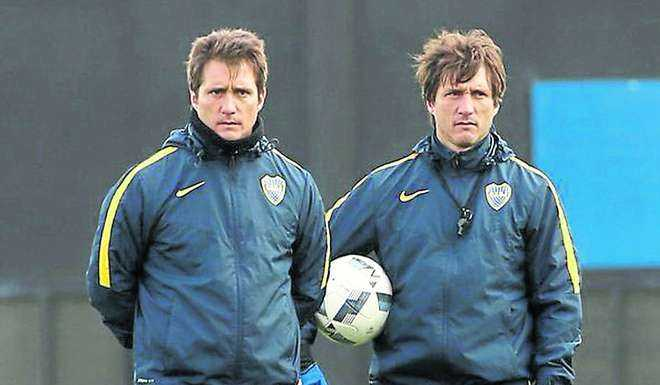 Barros y Schelotto
