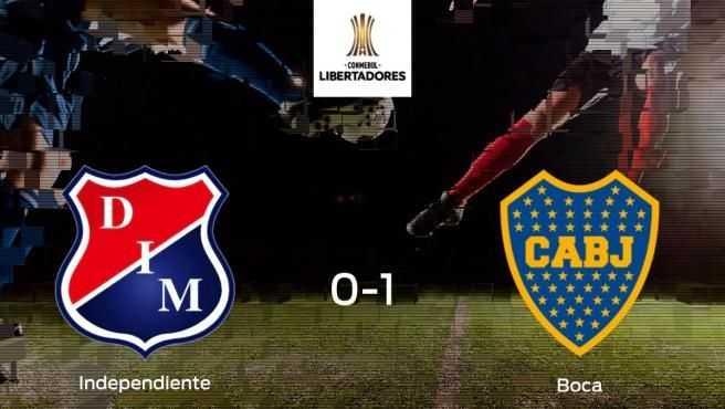 Boca aprovecha la segunda parte para ganar al Independiente Medellin