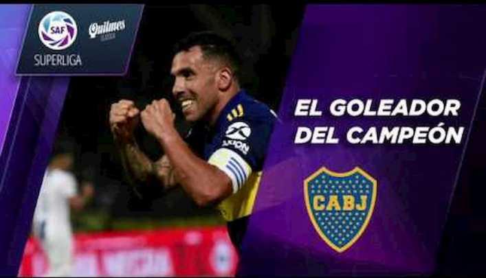 Boca Campeón: Carlos Tevez y sus nueve goles