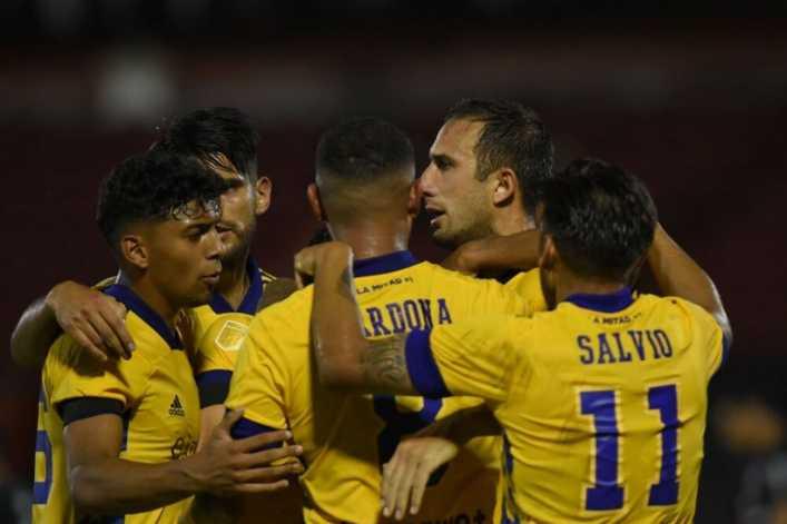 Boca compartió imágenes inéditas de la victoria ante Newells