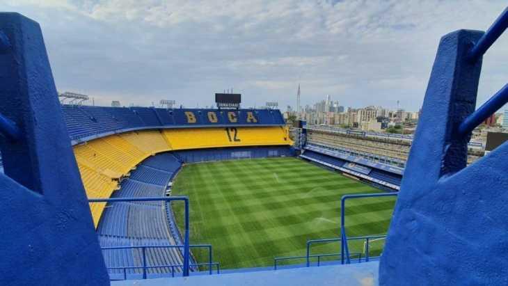 Boca hizo nuevas remodelaciones en La Bombonera
