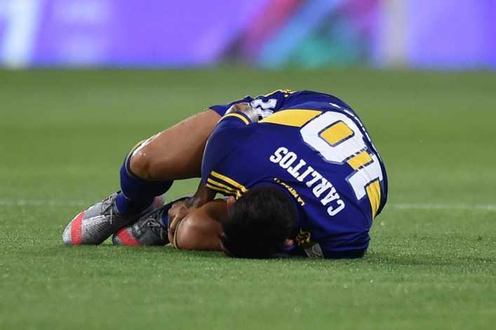 Boca-Inter: así fue el diálogo del VAR en la polémica patada a Carlos Tevez