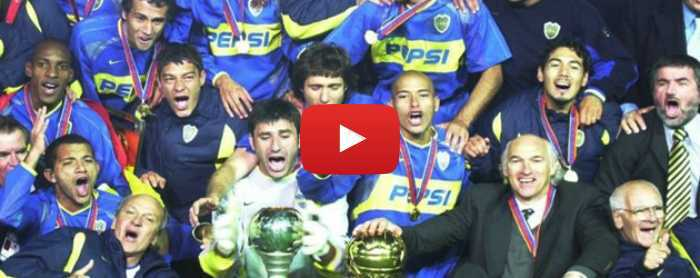 VIDEO: Boca-Milan Intercontinental 2003