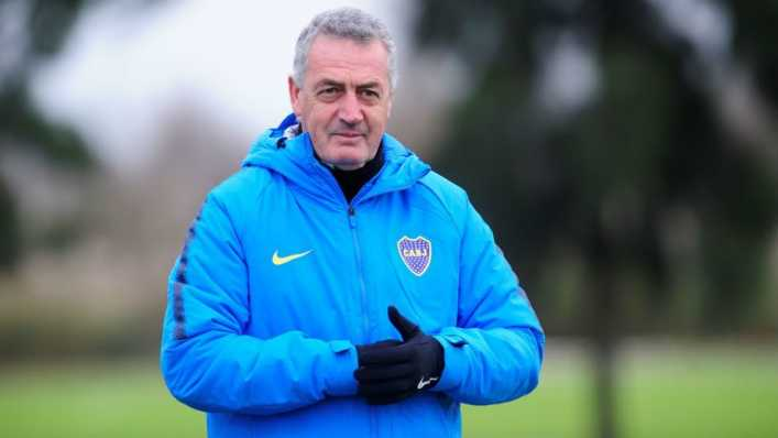 Boca regresa a los entrenamientos con buenas noticias para Alfaro