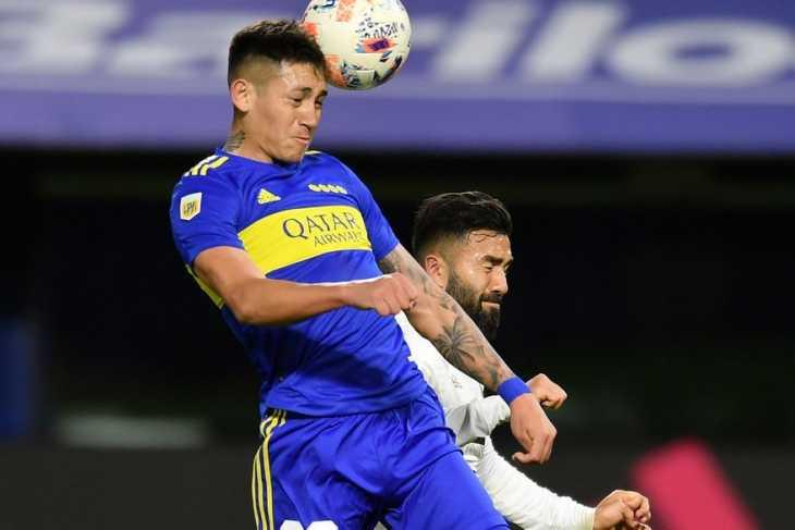 Boca: Sebastián Battaglia hizo práctica de fútbol y Almendra no participó, por precaución
