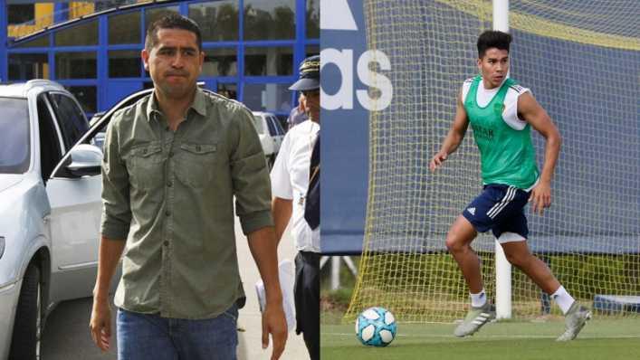Bronca en Boca con Pol Fernández: Riquelme analiza sacarlo del equipo
