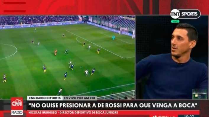Burdisso reveló cuál fue su estrategia para llevar a De Rossi a Boca
