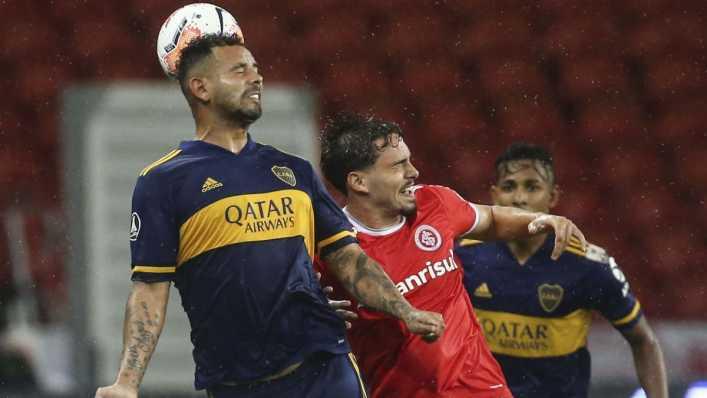 Cardona, figura en triunfo de Boca Juniors en Porto Alegre