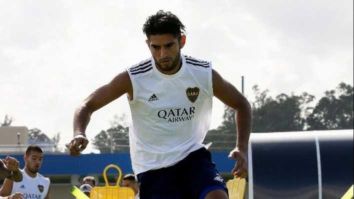 Carlos Zambrano se luce en la foto oficial de Boca
