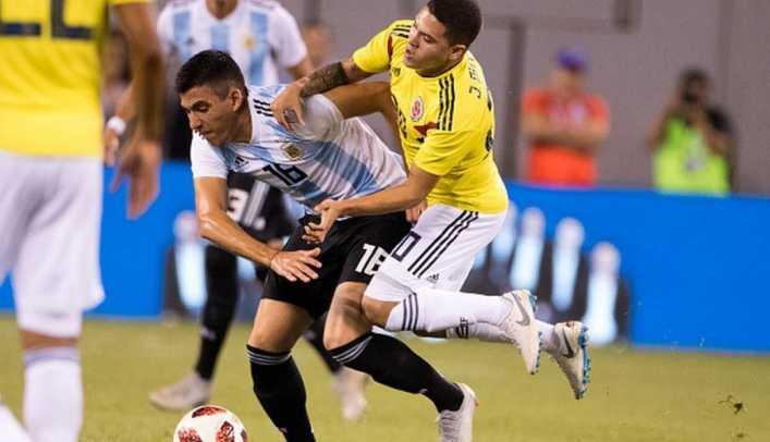 Colombia empató 0-0 ante Argentina en amistoso FIFA en New Jersey