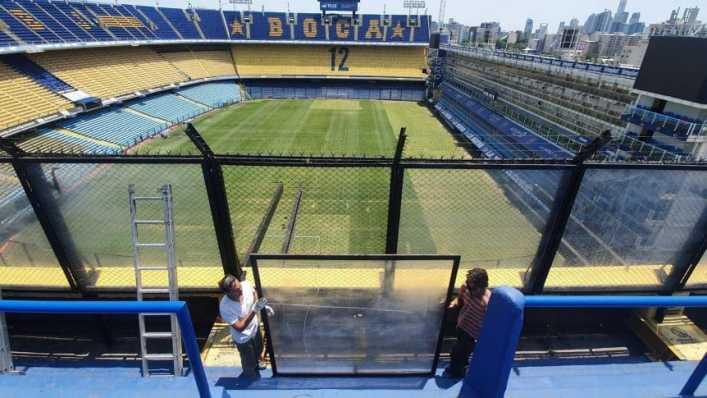 Comenzó la remodelación de un sector de La Bombonera
